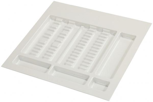 Häfele Spezialeinsatz H4128 für medizinischer Bereich flach Kunststoff weiß