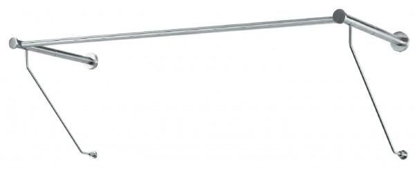 Häfele Garderobe H4109 für Wandmontage Edelstahl matt 985 mm
