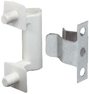 Häfele Federschnäpper H6081 zum Einpressen und Schrauben Stahl und Kunststoff
