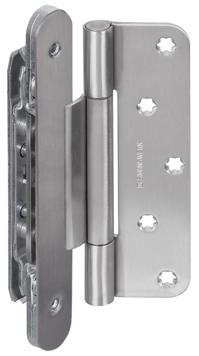 Simonswerk Objekttürband - VN 2927/160 Compact Planum - für ungefälzte Türen
