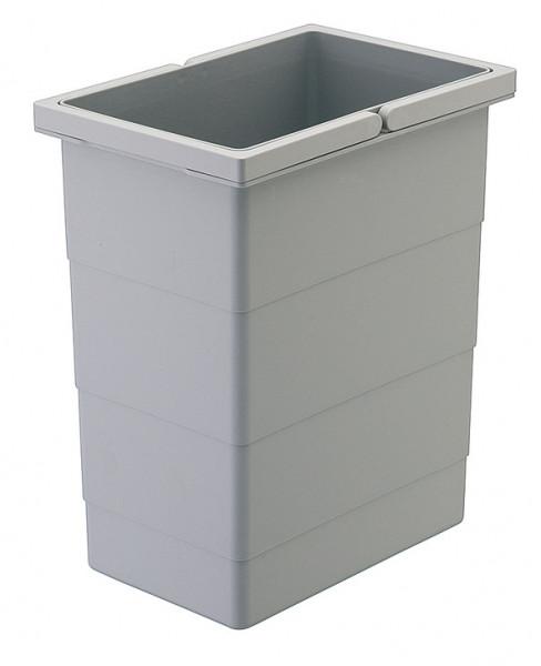 Hailo Ersatzeimer 8 Liter Raumspar-Tandem Rondo Separato-K hellgrau