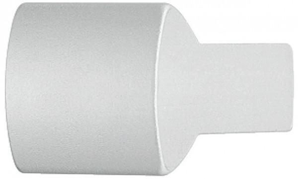 Häfele Möbelknopf H2012 Möbelgriff eckig Aluminium silber eloxiert