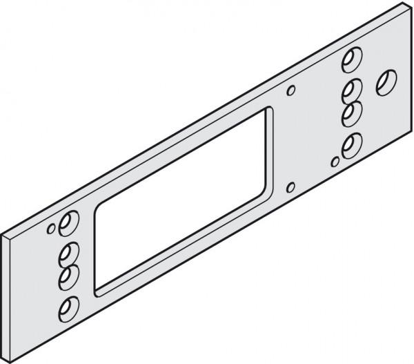 Geze Montageplatte TS 3000 für Türschließer silberfarben