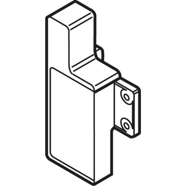 BLUM Metabox Fronthalter für Innenschubkasten Schraubversion