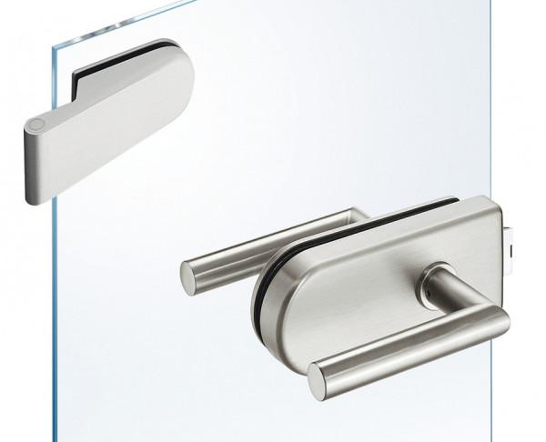 JUVA Glastür-Garnitur GHR 102 rund für Drehtüren im Wohnbereich