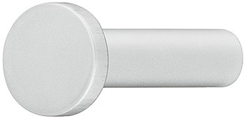 Häfele Garderobenhaken H3822 Aluminium Kleiderhaken silberfarben