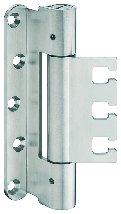Häfele Startec Objekttürband, Größe 160 mm - Türband für Aufnahmeelement VX - für gefälzte Türen, 22