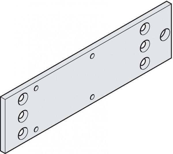 Geze Montageplatte TS 1500 für Türschließer silberfarben