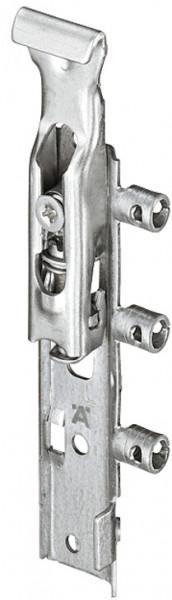 Häfele Schrankaufhänger unsichtbar für Oberschrank Stahl verzinkt