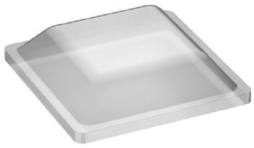 Häfele Anschlagpuffer selbstklebend eckig 12,7x12,7 mm Kunststoff transparent