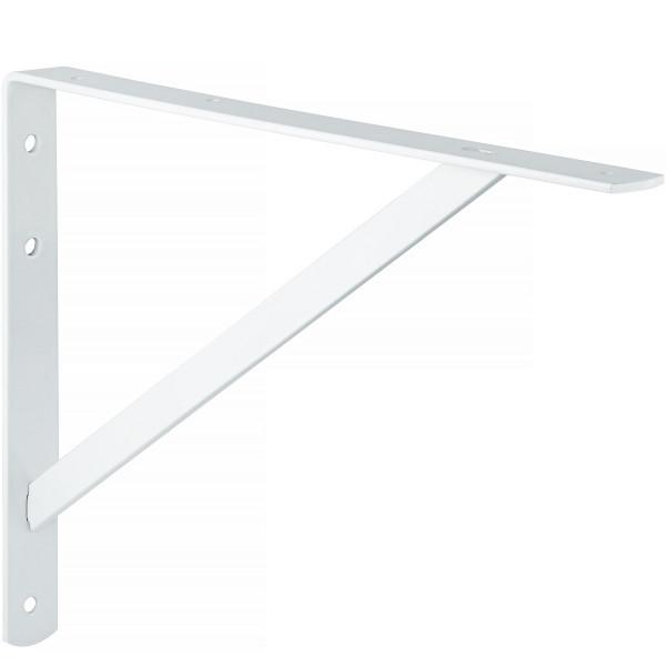 Schwerlast-Konsole ATHENA aus Stahl weiß