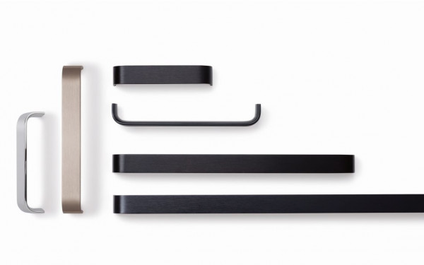 Möbelgriff SENSE aus Aluminium, BA 128 - 480 mm