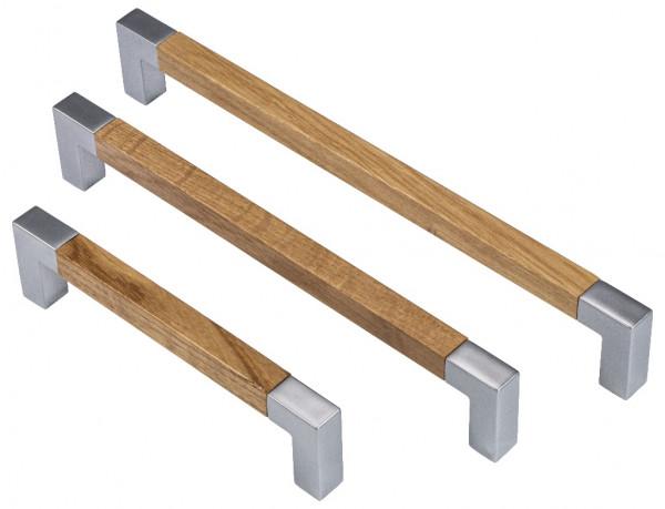 Häfele Möbelgriff Eiche lackiert Bügelgriff Türgriff Schrankgriff Küchengriff Griff Holz