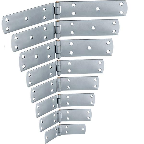 Kistenband aus Stahl mit Messingstift