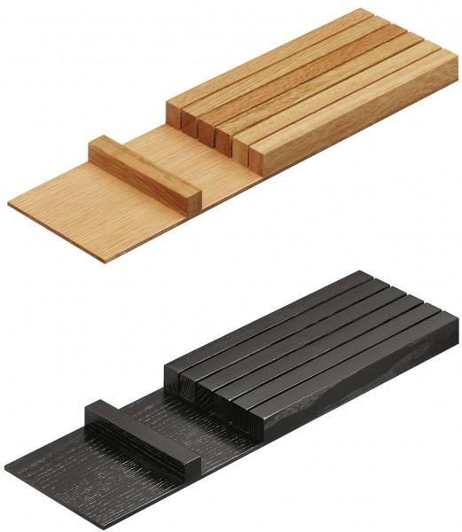 Häfele Messerblock H4141 aus Holz Schubkasteneinteilung universell flexibel für Nennlänge 500 mm