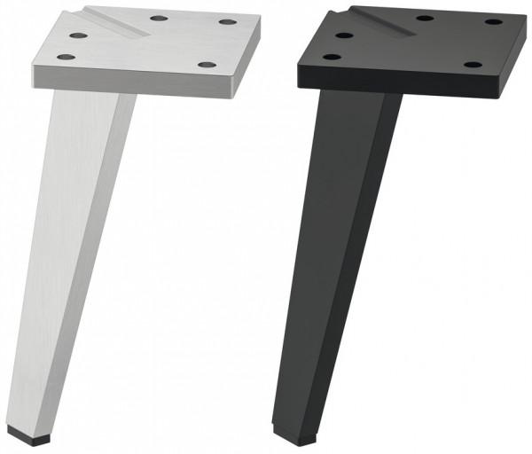 Möbelfuß DEKON aus Aluminium für Innen und Außen