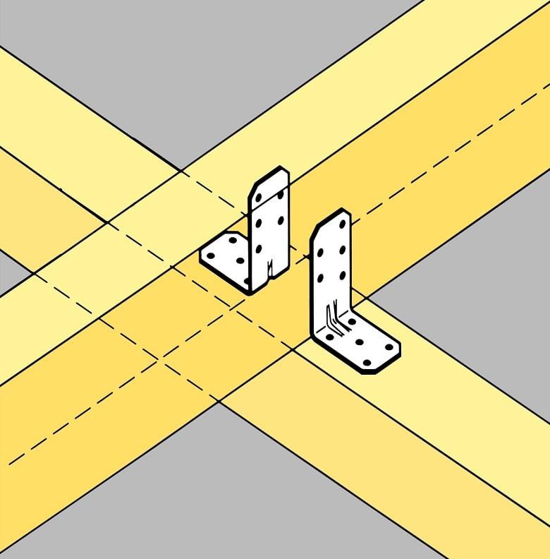 Abbildung-Winkelverbinder