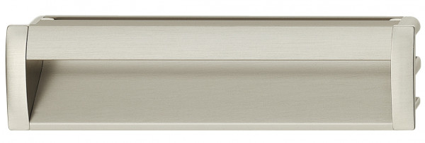 Häfele Muschelgriff eckig Modell LOLA Aluminium verschiedene Größen