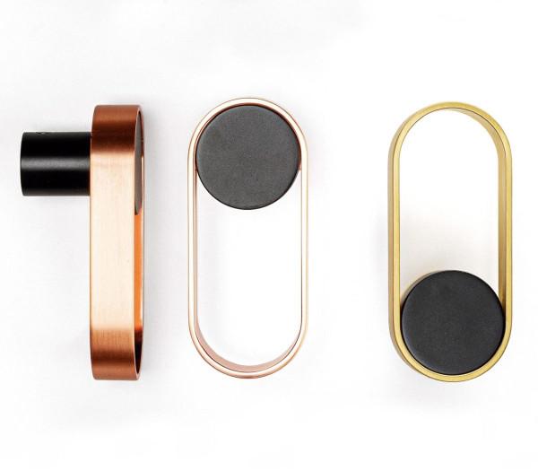 Garderobenhaken ORBIT aus Metall