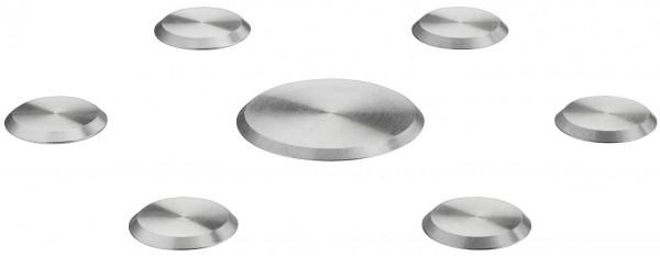 Häfele Schutzstäbe Kreise Druchmesser 55/30mm selbstklebend Edelstahl