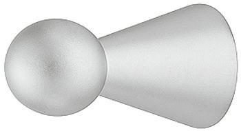 Häfele Möbelknopf H2090 Schrankknopf rund Ø 8 mm verchromt matt