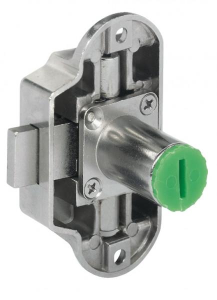 Häfele Drehstangenschloss H6156 Symo Piccolo -Nova Dornmaß 25 mm