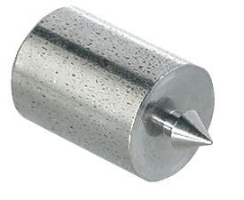 Häfele Zentrierstift zum Ankörnen der Bohrlöcher für Druckknopfverbinder Stahl blank