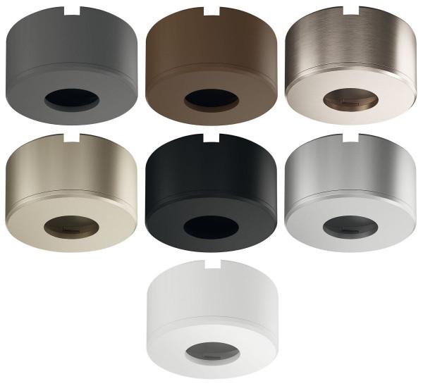 Unterbaugehäuse rund für LOOX5 LED 2090 & 3090