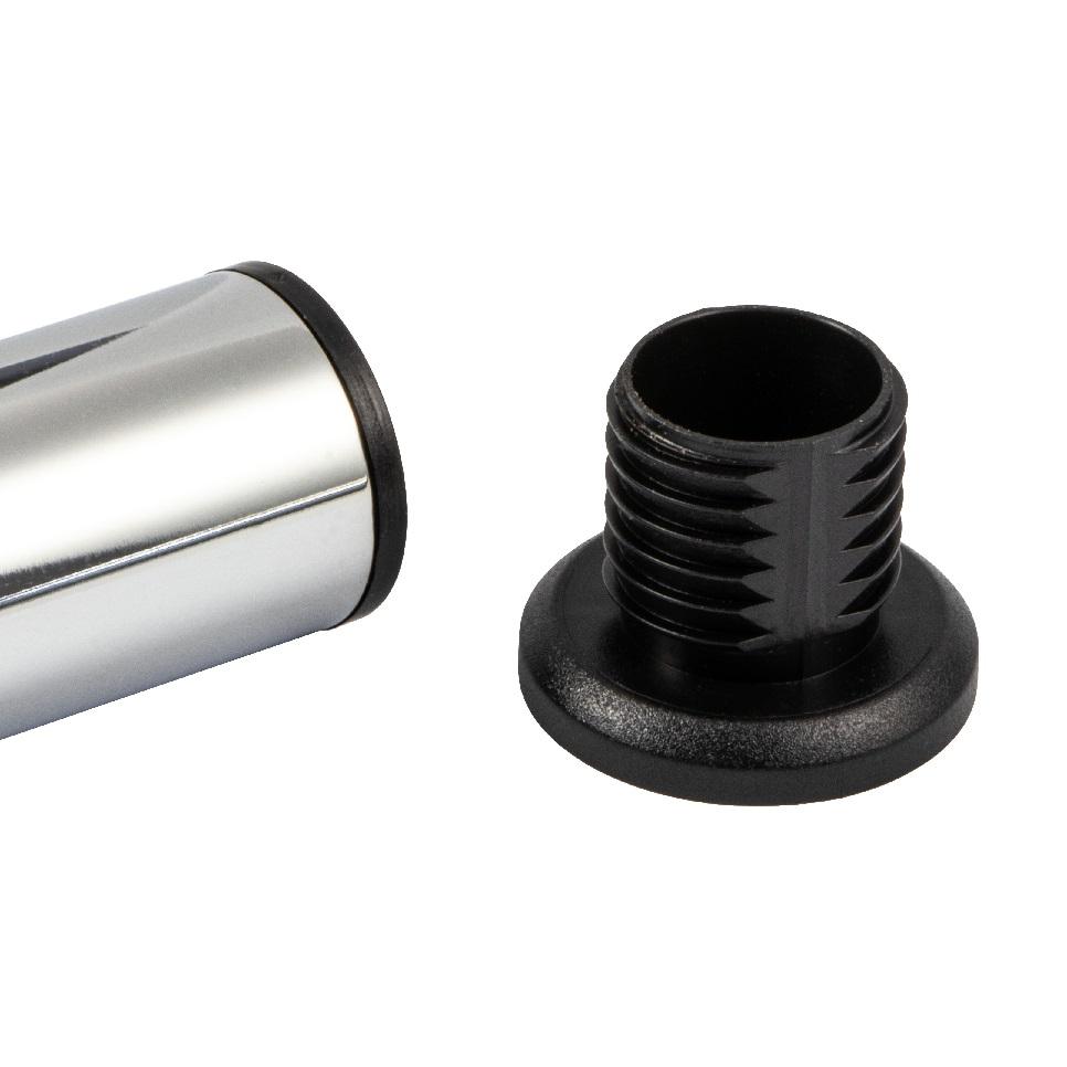 gepr/üft nach Norm EN 1856-2 Abgasrohr aus Stahl mit hitzebest/ändiger Senotherm Beschichtung Durchmesser: ca Kamino Flam Bogenknie schwarz mit T/ür Winkel von 45/° 150 mm