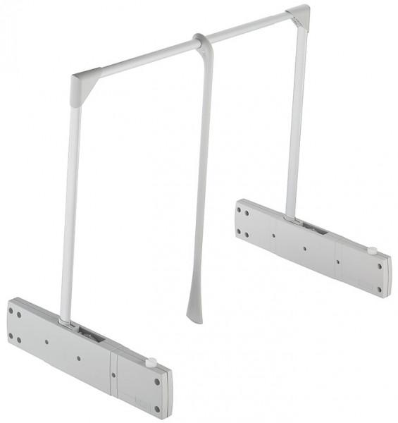 Häfele Garderobenlift Super und Super Pro Kleiderlift Schranklift grau