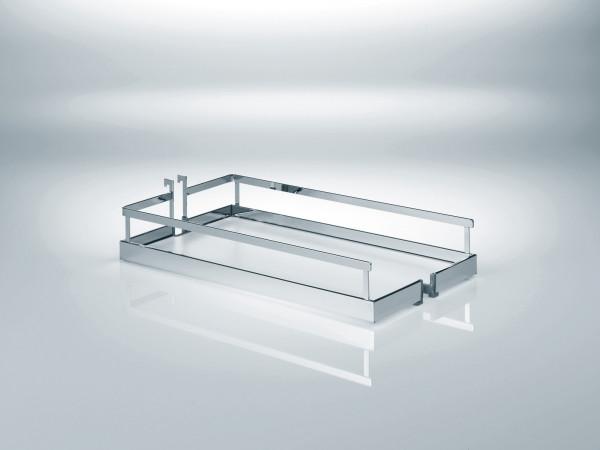 Kesseböhmer Einhängekorb Arena Style für Dispensa mit weißem Holzboden
