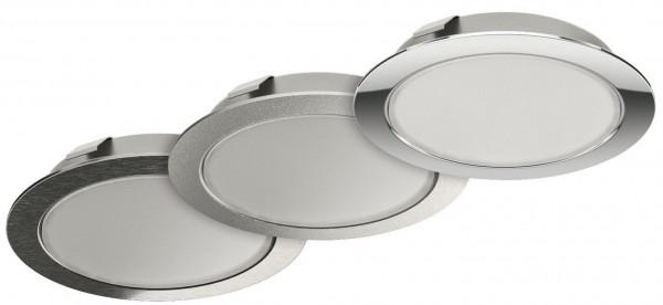 Häfele Ein-/Unterbauleuchte 12 V Loox LED 2048 Spot rund multi-weiß