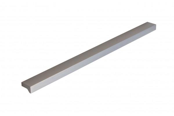 Möbelgriff Aluminium Griffleiste Bohrabstand 177 mm silber eloxiert GR10091