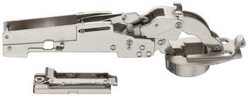Häfele Design Klappenhalter H7009 Klappenbeschlag mit oder ohne Schließautomatik