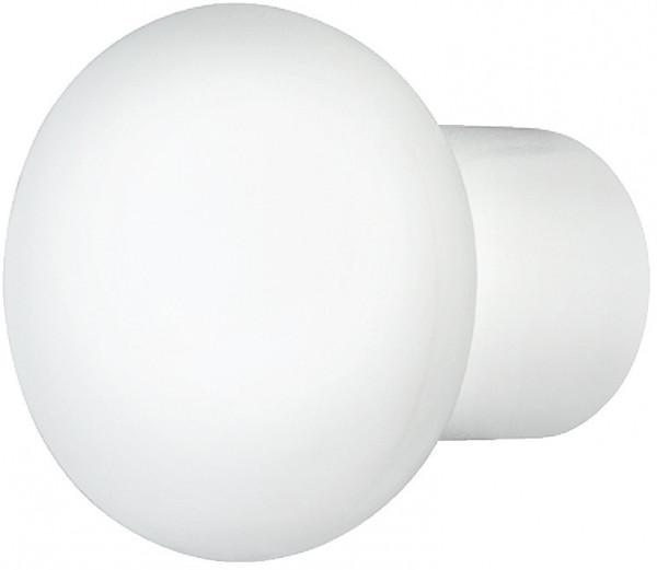 Häfele Möbelknopf H2074 Schrankknopf rund Kunststoff weiß