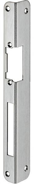 Häfele Winkelschließblech für Stulp 16 mm vorgerichtet für Elektro-Türöffner und Austauschstücke 250