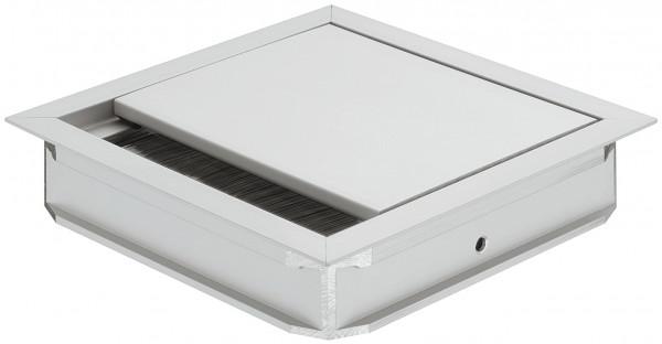 Häfele Kabeldurchlass quadratisch oder rechteckig Modell H9007 Aluminium