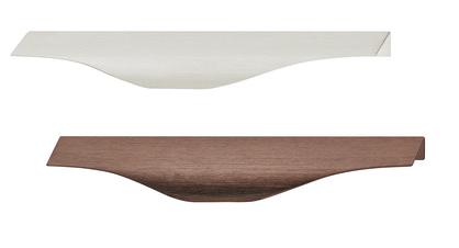 Häfele Möbelgriff Griff-Profilleiste Aluminium H10418 Griffleiste Edelstahl Optik oder Bronze Antik