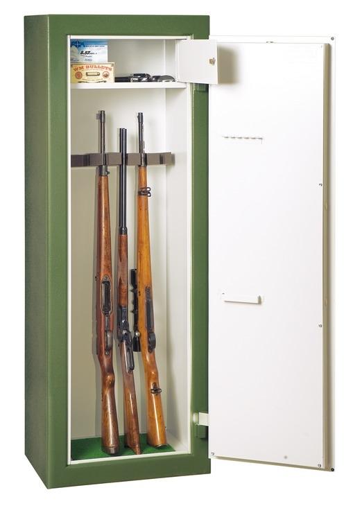 Häfele Waffenschrank mit 5, 7 oder 9 Waffenhaltern