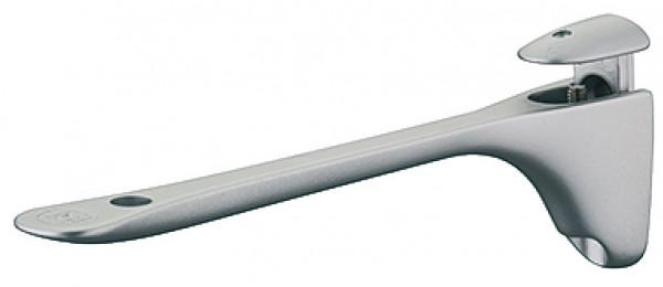 Häfele Regalkonsole H3016 Klemmtablarträger für Holz und Glas 6-20 mm