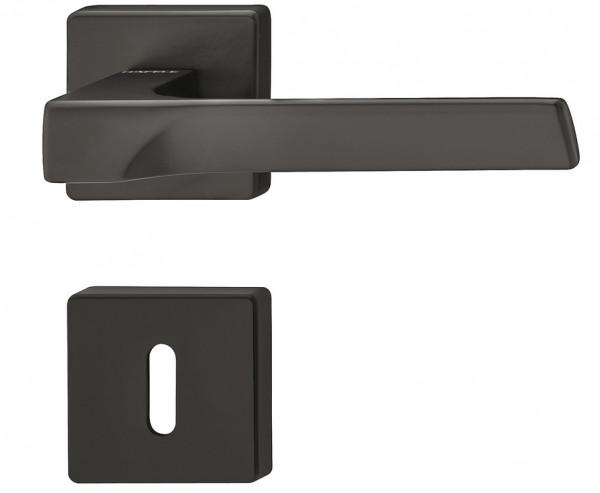 Türdrücker schwarz matt LDH 3205 BB