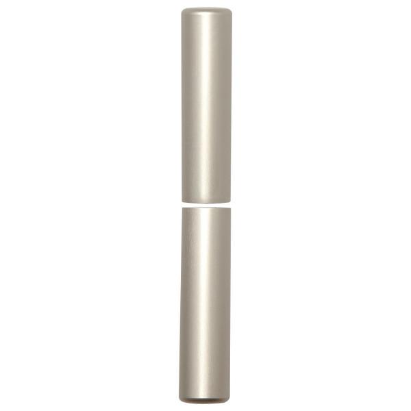 SFS Intec 1 Paar Aufsteckhülsen 3-DIM Band 15 mm Bandhöhe 92 mm flachrund Aluminium verschiedene Obe