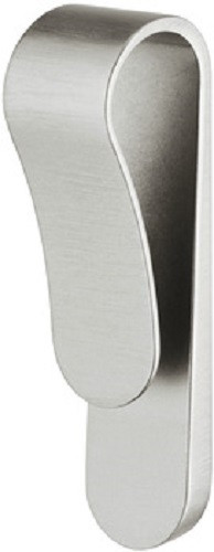 Häfele Design Kantengriff Zinkdruckguss Möbelgriff Modell H1841 verschiedene Oberflächen