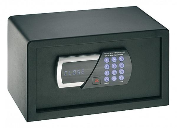 Häfele Mini Tresor mit Zahlenschloss Hotelsafe schwarz