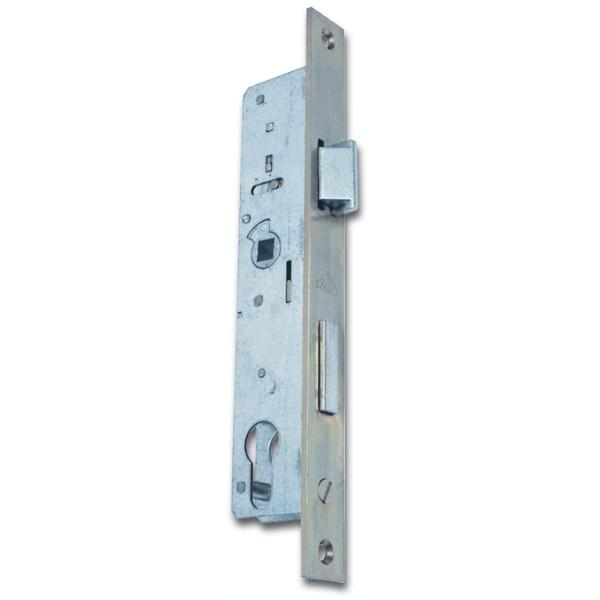 Roto Rohrrahmenschloss 873 Flachstulp mit Falle und Riegel PZW 78 mm Stahl verzinkt
