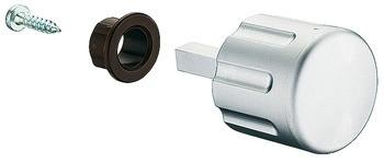 Drehknopf PUSH-LOCK mit Vierkantstift Länge 28 mm