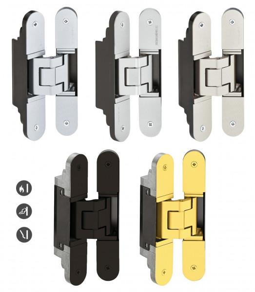 Türband TECTUS TE 340 3D verdeckt für ungefälzte Türen bis 80 kg