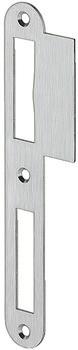 Häfele Lappenschließblech gerade für ungefälzte Türen 170 mm