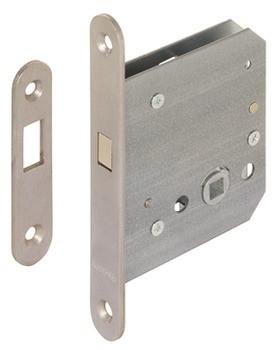 Startec Einsteckschloss für Schiebetüren Zirkelriegel Bad/WC Dornmaß 55 oder 65 mm