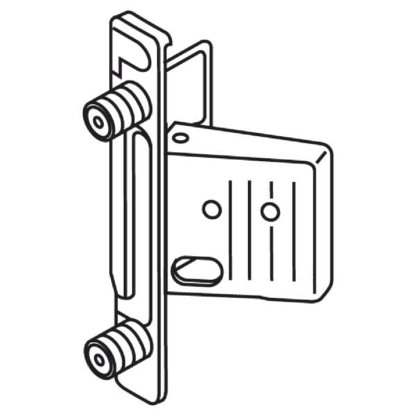 BLUM Metabox Frontbefestigung CLIP Expando ZSF.130E Links oder Rechts